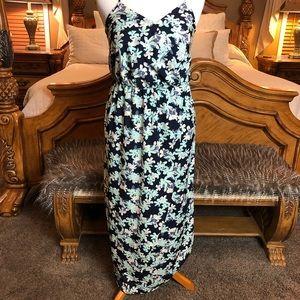 🌸Banana Republic Floral Maxi Dress Size 8
